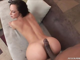 Big Backside Assfuck Interracial Creampie - jada stevens