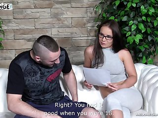 Czech pornstar practicing the art of fucking and her cunt tastes divine