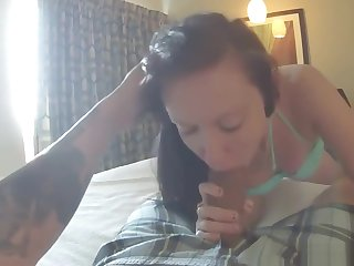 Emo Girl Couch Pov Blowjob And Facial