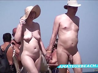 Beach Voyeur Amateur Sex Public Nude Beach Compilation Video