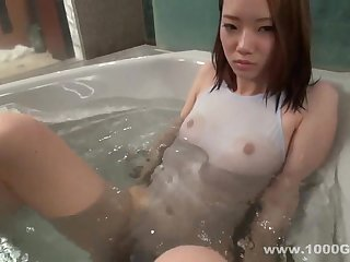Petite Asian Nymphette Pussy Rubbing