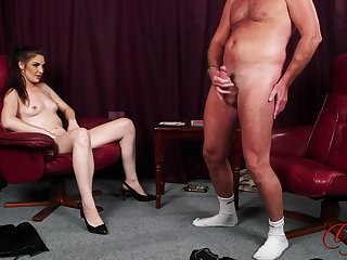 Roxee Couture plays strip poker with her man and wins in the end